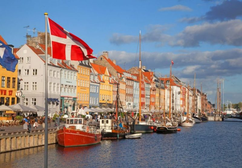 Landscape planning internship with salary in Denmark